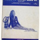 Music To Watch Girls By Vintage Sheet Music 1966