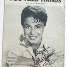 You Need Hands Vintage Sheet Music Eydie Gorme 1957