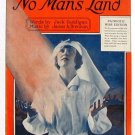 The Rose Of No Man's land Vintage War Edition Sheet Music 1918