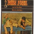 Born Free Vintage Sheet Music 1966 Elsa the Lion