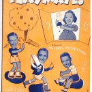 Playmates Vintage Sheet Music 1940 Hal Kemp The Smoothies