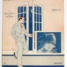 I'd Love To Meet That Old Sweetheart Of Mine Deco Leff Sophie Tucker Vintage Sheet Music 1926