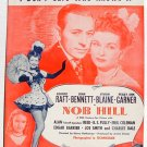 I Don't Care Who Knows It Vintage Sheet Music 1944 Nob Hill