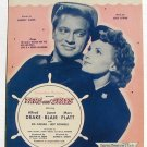 I'm Glad I Waited For You Vintage Sheet Music 1945 Tars and Spars
