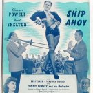 The Last Call For Love Vintage Sheet Music 1942 Ship Ahoy