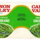 Cannon Valley Grean Beans Vegetable Can Label Faribault MN