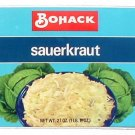 Vegetable Can Label Bohack Sauerkraut Brooklyn NY