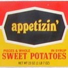 appetizin' Sweet Potatoes Can Label Dallas Texas