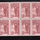 US Scott 1064 Block of 8 MNH VF 3c Academy Fine Arts