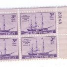 US Scott 923 MNH Plate Block of 4 3c Steamship UR 23145