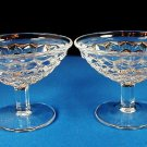 Fostoria American 2 Low Champagne Sherberts Elegant Glass