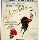Vintage Sheet Music Makin' Whoopee Ziegfield Eddie Cantor 1928 Deco Cowgirl
