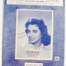 Vintage Sheet Music Kathy Linden Goodbye Jimmy Goodbye 1959