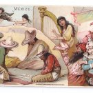 Victorian Trade Card Arbuckle Coffee 1893 Mexico 30 sports and pastimes