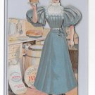 1895 Pillsbury Flour Victorian Paper Doll Cut Out Assembled Advertising Premium
