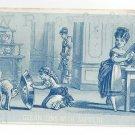 Victorian Trade Card Sapolio Soap Enoch Morgan WR Lawfer Allentown PA Handstamp