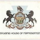 Pennsylvania State House of Representatives 1979 Souvenir Booklet Rybak 135th Dist PA