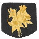 Small Victorian Trade Card John Wanamaker Clothes Philadelphia PA Daffodils