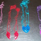 2 BEST FRIENDS NECKLACES toys gifts prizes kids parties