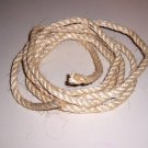 "3/8"" SISAL Rope Unoiled & Natural bird toy parts 20'"
