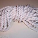 "25' 1/2"" Supreme Cotton Rope bird toy parts parrots pets"