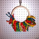 SISAL SWING bird toys for parrots cages parts perches