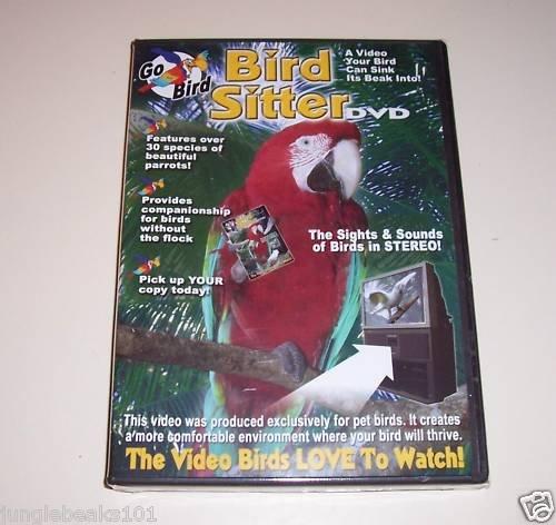 BIRD SITTER DVD toy parts parrots moive music sounds