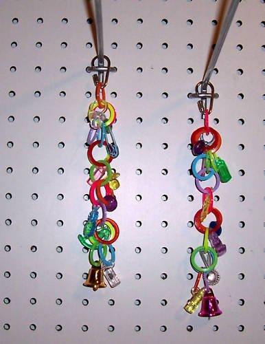 1 COIL CHARMER bird toy parts parrots parkaeets cockatiel