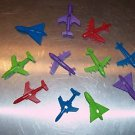 """25 2"""" Airplanes bird toy parts parrots cages perches"""