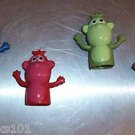 4 Monkey Finger Puppets toys kids party favors prizes
