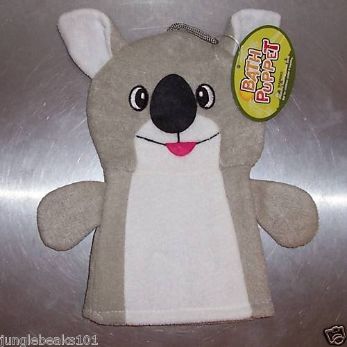 BATH PUPPETS scrubbers 4 kids toys games FUN gifts