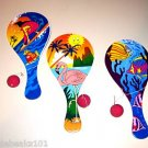 3 OCEAN PADDLE BALL toys kids party favors prizes games