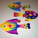 FISH 2 PADDLE BALL GAMES toys gifts prizes kids prizes