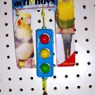 STOP LIGHT bird toy parts parrots parkaeets cockatiel