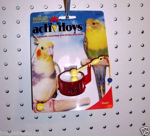 Drum bird toy parts parrots parkaeets cockatiel finch