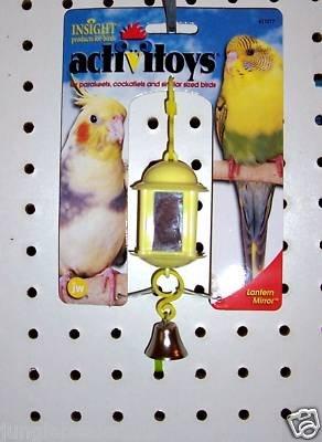LANTEN Bird MIRROR bird toy parts crafts rabbits chins