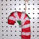 CANDY CANE PINATA bird toy parts rabbit chins Christmas