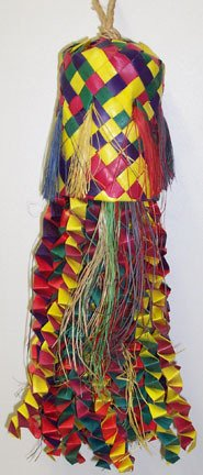 MED PINATA OCTOPUS Shredding bird toy parts rabbit chin