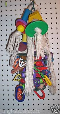 CAGE CHOMPER bird toy parts 4 parrots cages Cockatoos