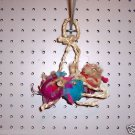 3pc SHREDDING BALLS bird toy parts crafts rabbits chins