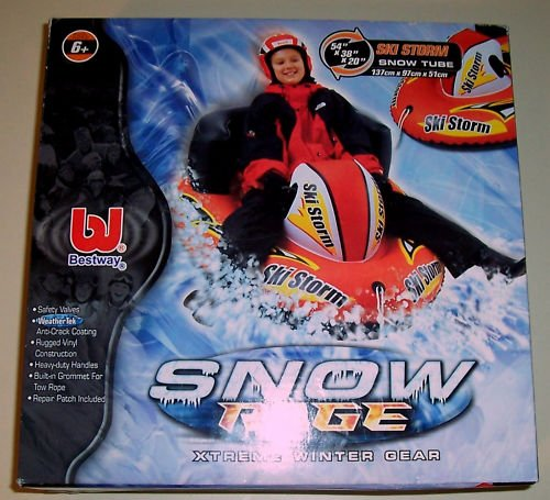 SNOW SKI inflate TUBE kids winter sports gifts prizes