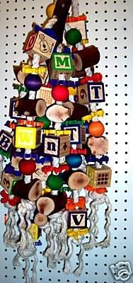 MANZANITA BUSTER bird toy parrots cages Cockatoos toy