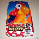 INFLATE PARROT bird toy parts 4 parrots cages perch