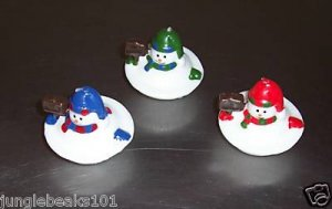 MELTING SNOWMAN Candles gifts decerations Christmas