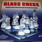 32 piece GLASS CHESS set toys gifts prizes kids games