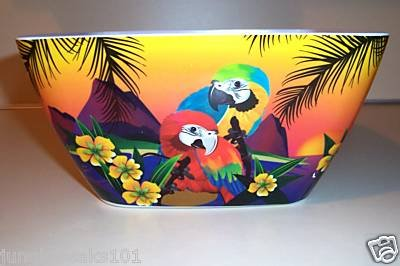 LARGE Parrot Bowl birds household parties toys