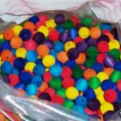 25 16mm Colored Beads bird toy parts 4 parrots cages