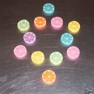 12 Fruit Slice Erasers toys gift prizes kids school art