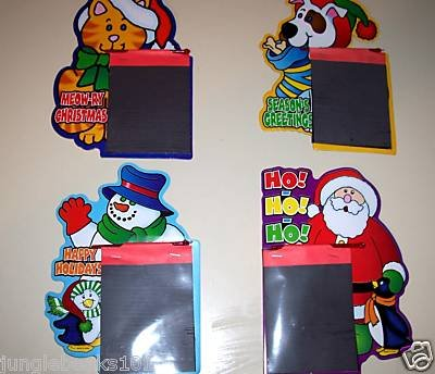 4 Christmas Magic Pads toys gifts prizes kids games