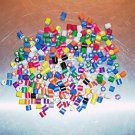 200 Mini Tube Beads bird toy parts parrots cages crafts